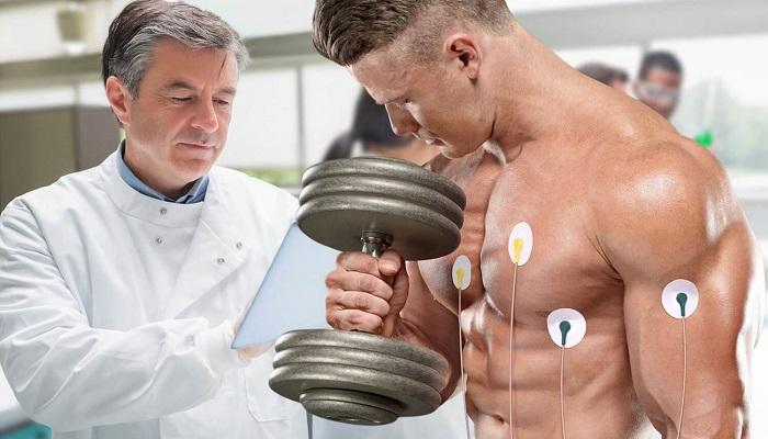 Обследование у врача, начало тренировок с железом