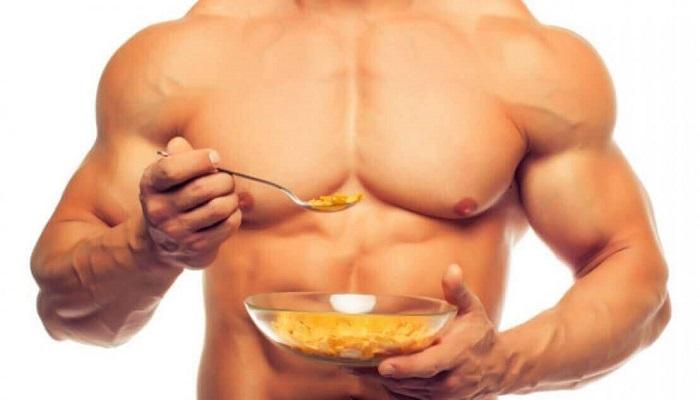 Еда и мускулы