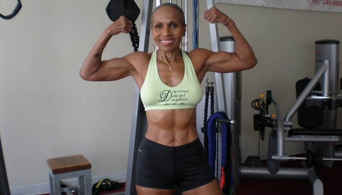 Бодибилдинг, женщина, возраст