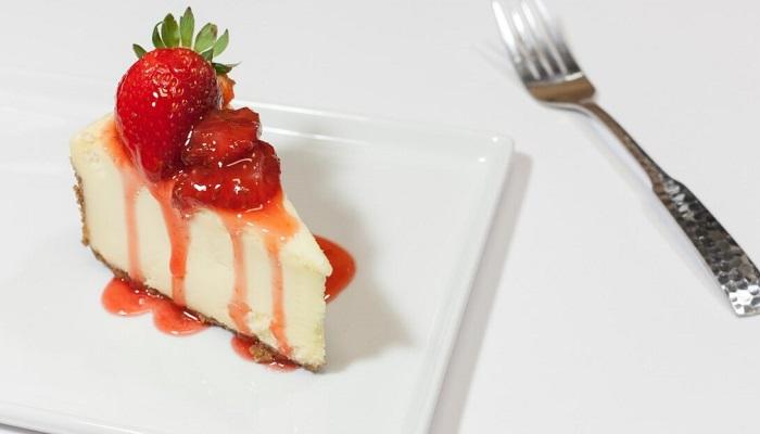 Протеиновый сырный пирог
