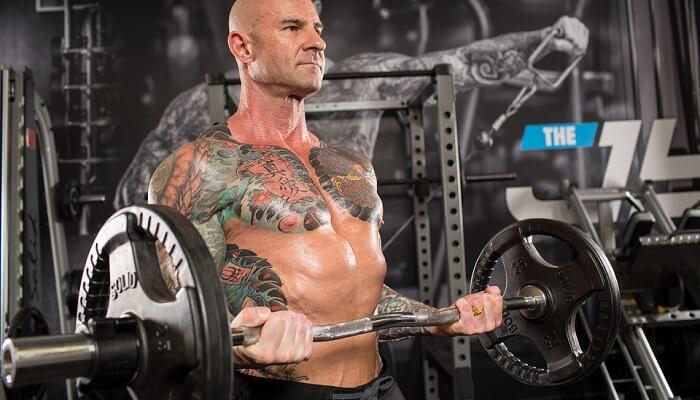 Жёсткая тренировка Джима Стоппани full body: «мышцы за 4 минуты».