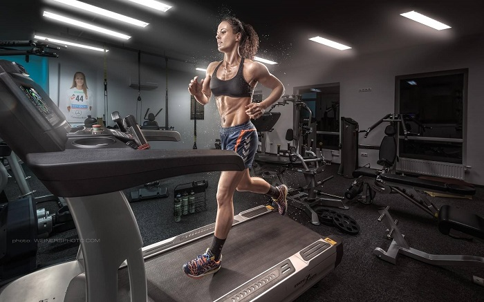 Аэробный тренинг, беговая дорожка