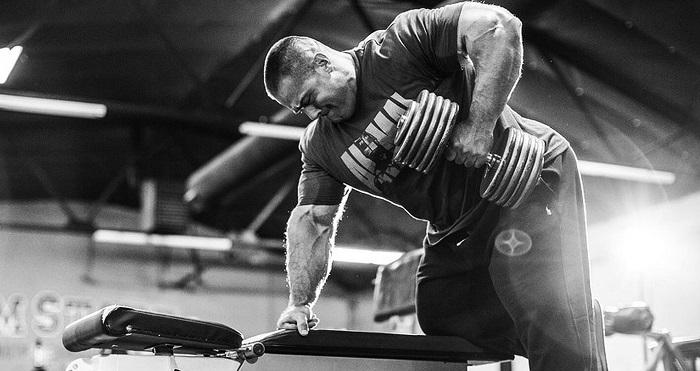 Эван Центопани: тренировка спины.