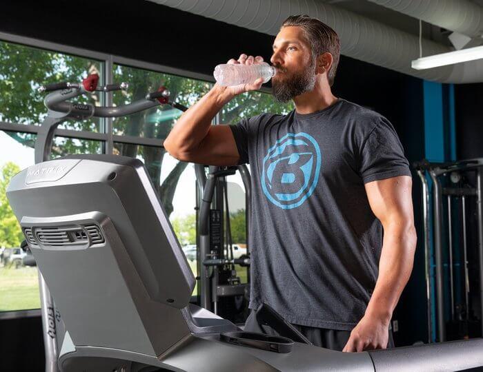 Кардио, пить воду