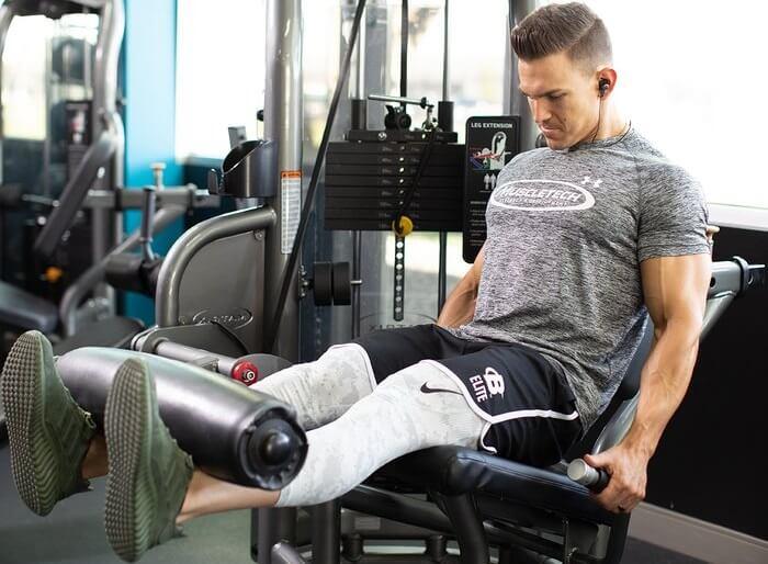 Экстремальная тренировка ног с акцентом на квадрицепсы.
