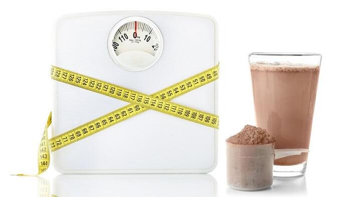 Весы, мерная лента, протеин