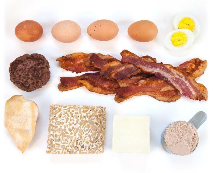 белковые продукты питания