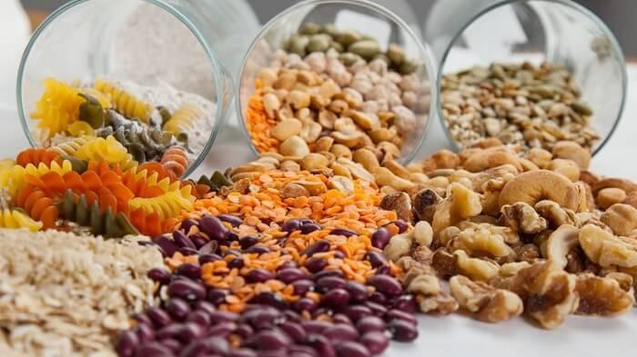 Выбор дополнительных растительных белков.