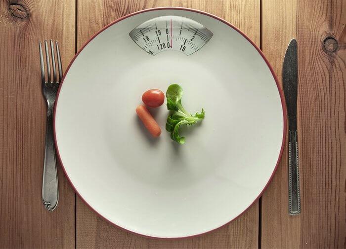 Тарелка с весами