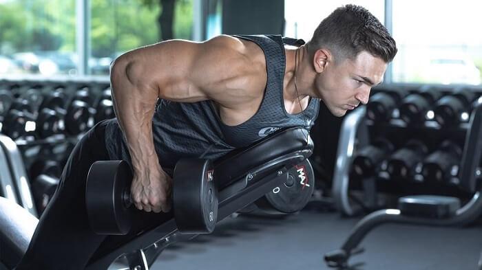 Как улучшить тягу гантелей в наклоне.