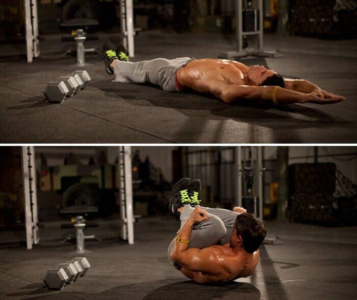 Упражнение «кокон»