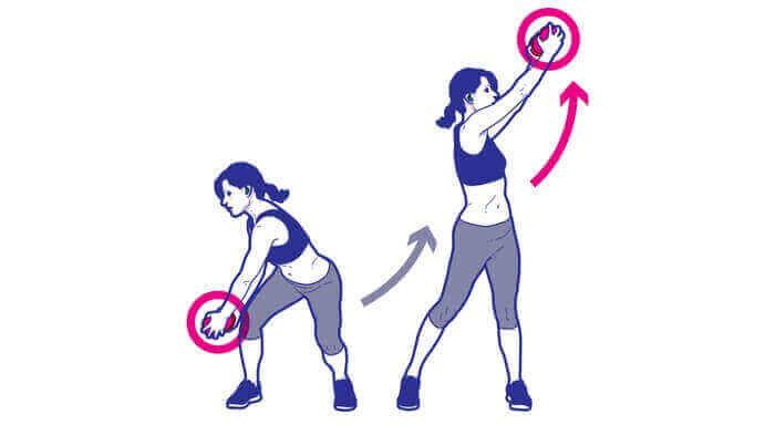 Дровосек упражнение