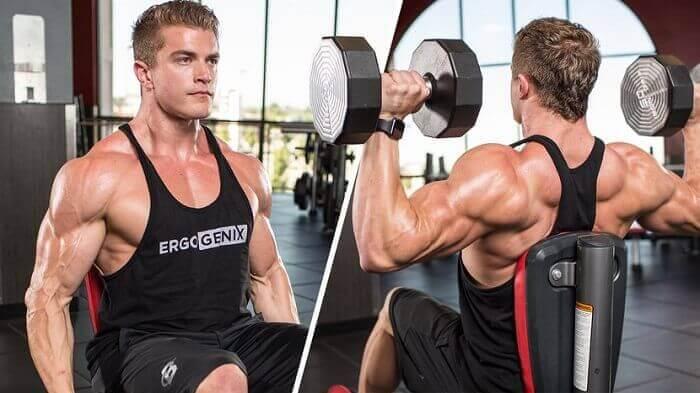 Тренировки плеч